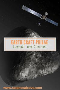 Earth Craft Philae Lands on Comet - https://sciencealcove.com/2014/11/earth-craft-lands-comet/