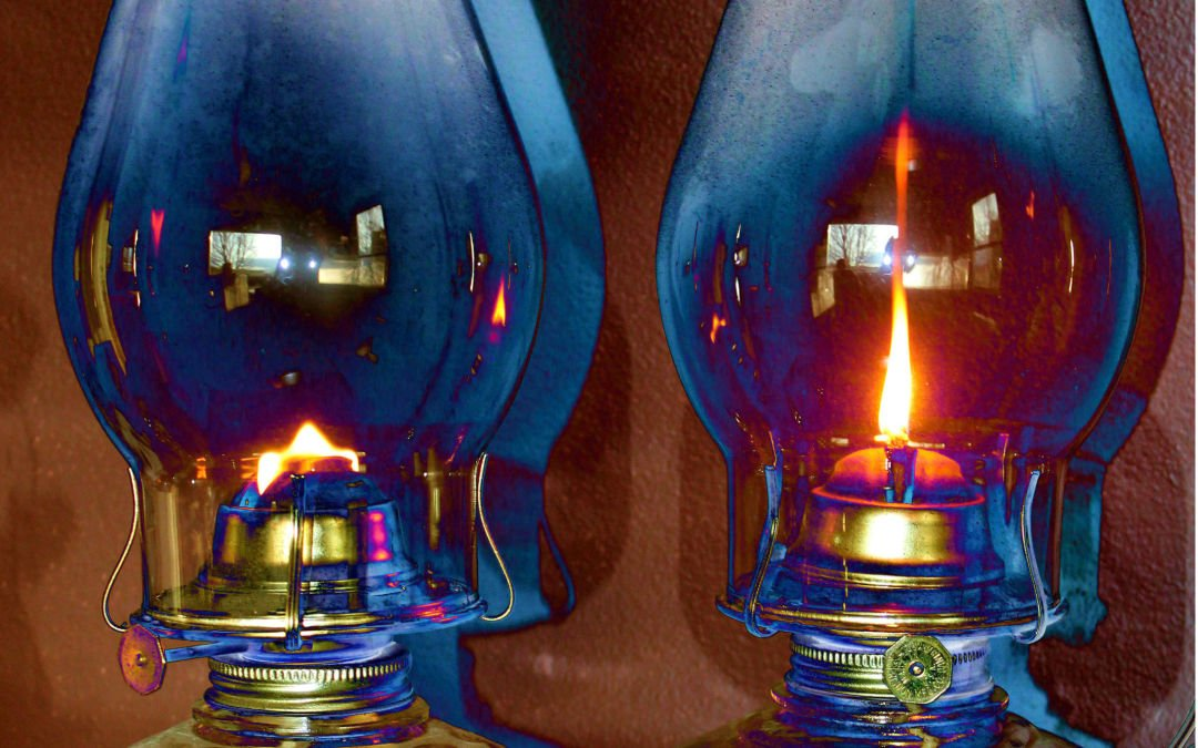 Old Lamps in Double
