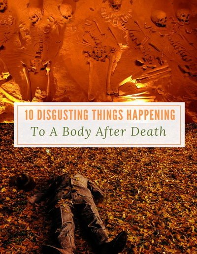 10 Disgusting Things Happening to a Body After Death - https://sciencealcove.com/2016/06/10-things-happening-body-after-death/