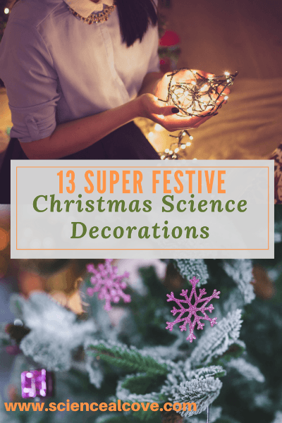 13 Super Festive Christmas Science Decorations