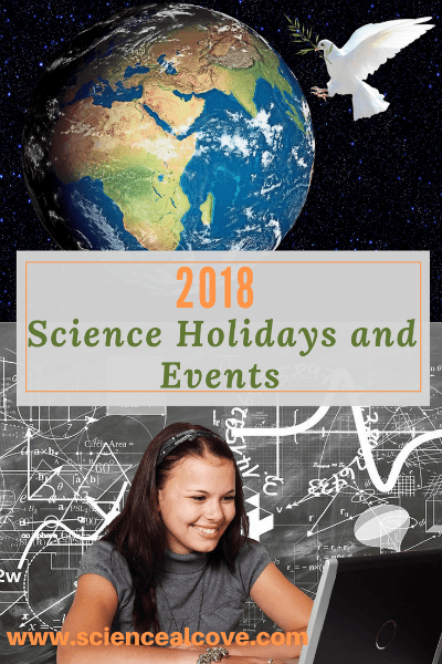 2018 Science Holidays and Events